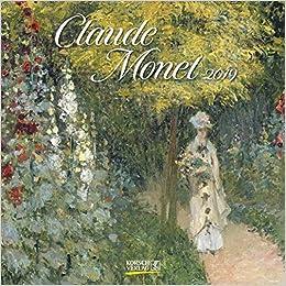claude monet 2011 wall calendar