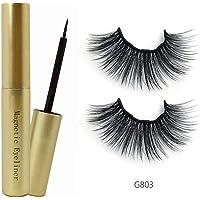 Thiningstars Delineador magnético Maquillaje cosmético para Mujer Exceptional