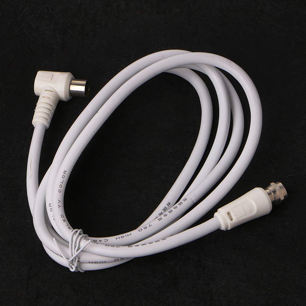 NIANNIAN 9,5 mm, color blanco, conector de 90 grados ...