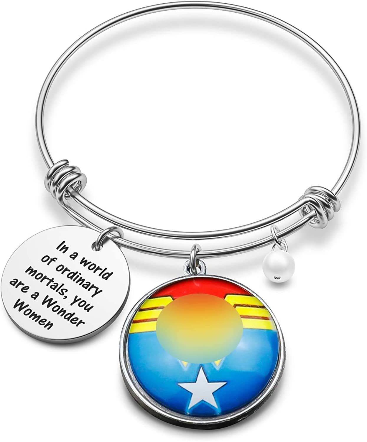Wonder Women Inspired Bracelet Diana Prince Gift in a World of Ordinary Mortals You are a Wonder Women