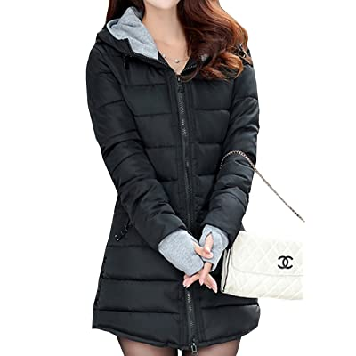 Aishang Warmest Winter Coats For Women Candy Colors Down Coat With Hood