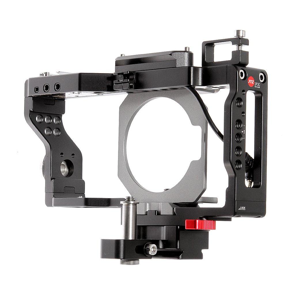 Jtz dp30カメラケージwith jtzlink、Arry標準ロゼット、ホットシューマウントfor BMPCC Blackmagic Pocket Cinema Camera   B07B1XTPVG