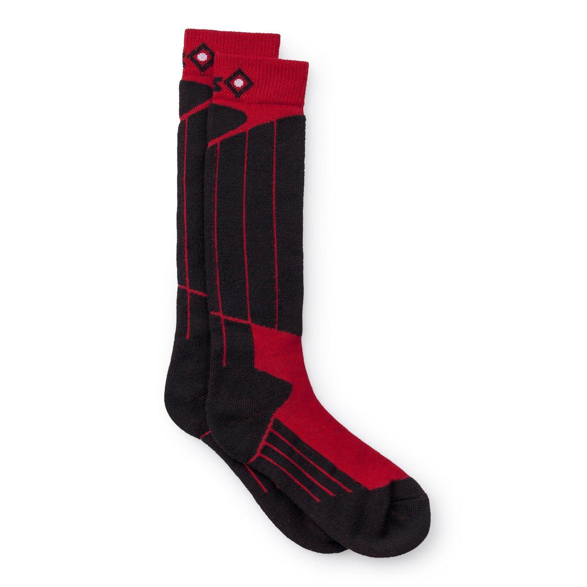 Izas Fontan Calcetines Unisex Color Negro//Rojo
