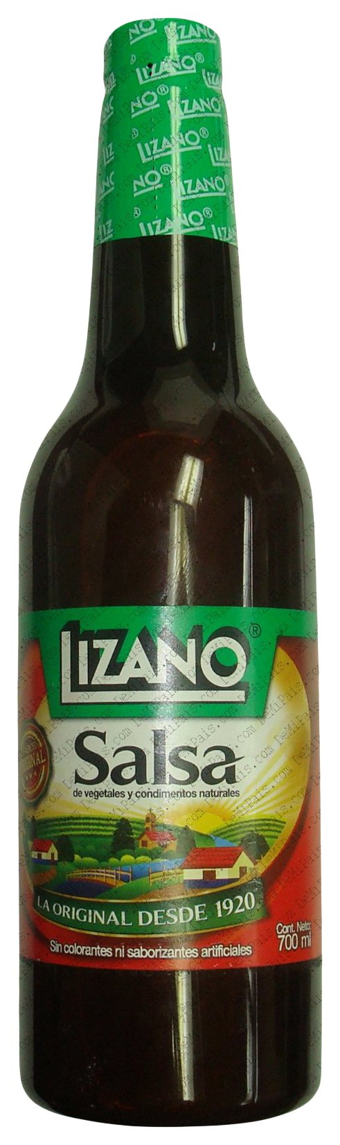 Lizano Salsa 700 mL/23 oz., 6 Bottle by Lizano