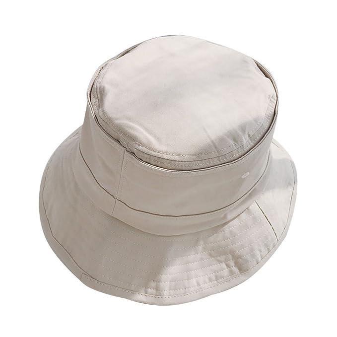 Sombrero Sombrero De Pescador Sombrero Grande De Color Sólido Sombrero 3b887b2451f