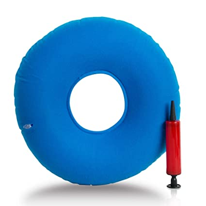 Amazon.com: zinnor, cojín inflable con una bomba, médico ...