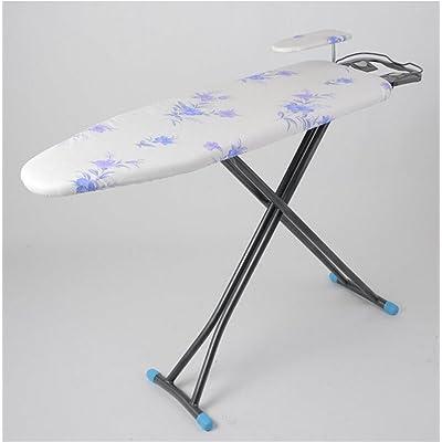 planche a repasser Planche à repasser pliable verticale Table à repasser Tube en acier Coton Durable Fleurs antidérapantes Table à repasser (Couleur : #1)
