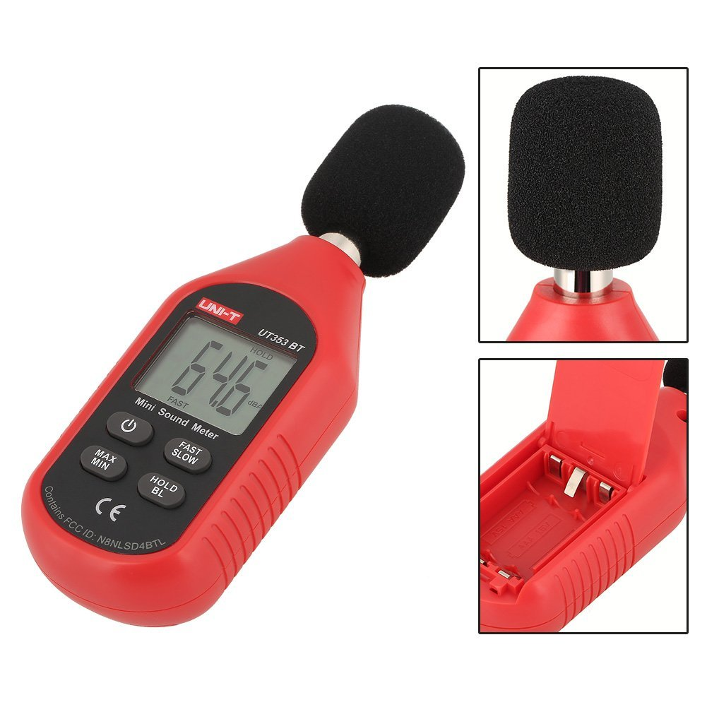 UNI-T UT353BT Sound Level Meter Digital Bluetooth Noise Meter Tester 30-130dB Monitoring Sound,with Bluetooth Function. by Hilitand (Image #4)