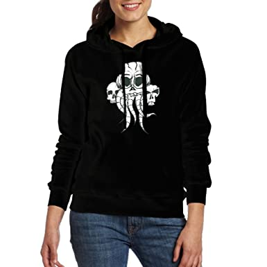 Small Hoodie Skull and Tongue Boys Casual Soft Comfortable Sweatshirts Pocket Hoodies