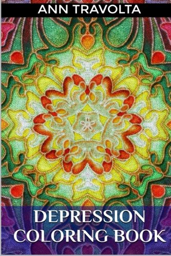 Depression Coloring Book Cure And Medical Adult Mandala Anti Stress Patterns