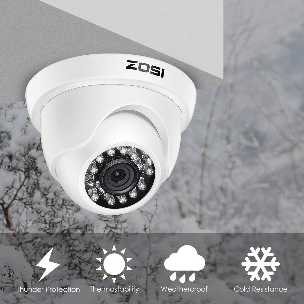 Sistema de Seguridad DVR Kit ZOSI