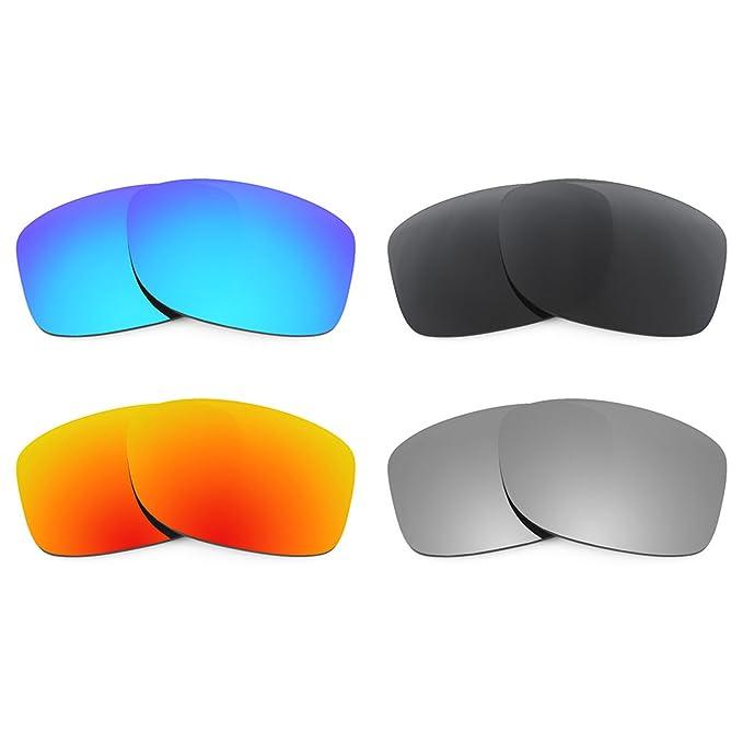 Revant Combo de 4 pares de lentes polarizados, de reemplazo, para Oakley Jupiter Squared