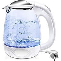 Extrastar hervidor electrico termo electrico de agua, con capacidad 1,7L (Blanco)