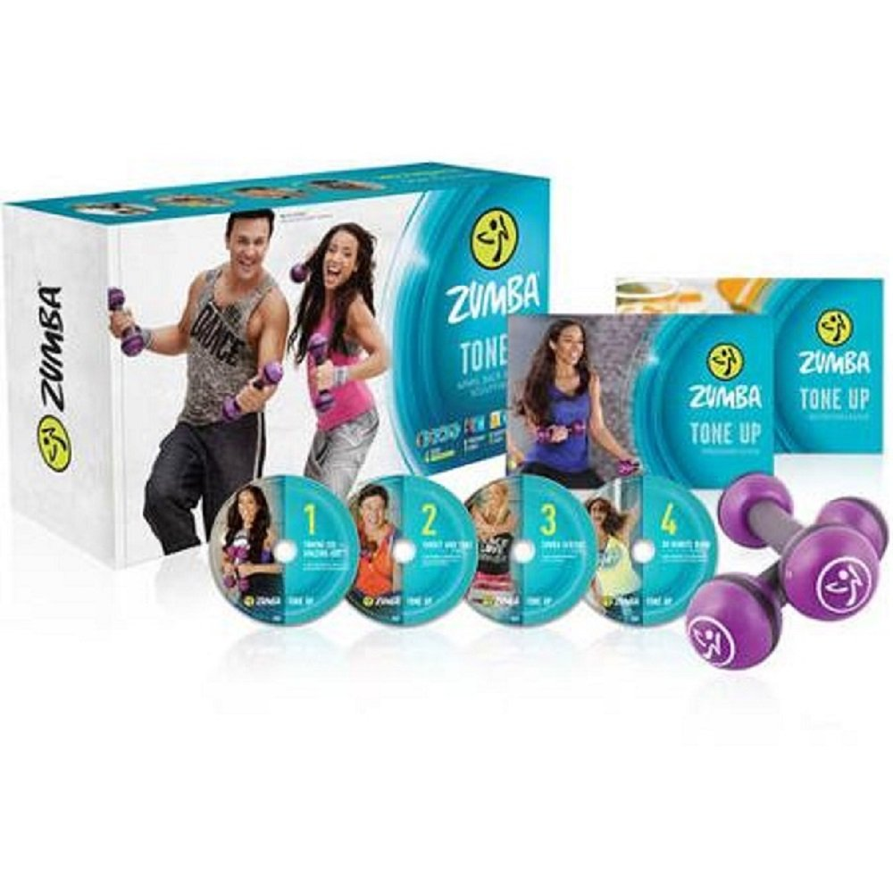 Amazon.com : New - Zumba Tone Up - Arms -Back & Core Sculpting System :  Sports & Outdoors
