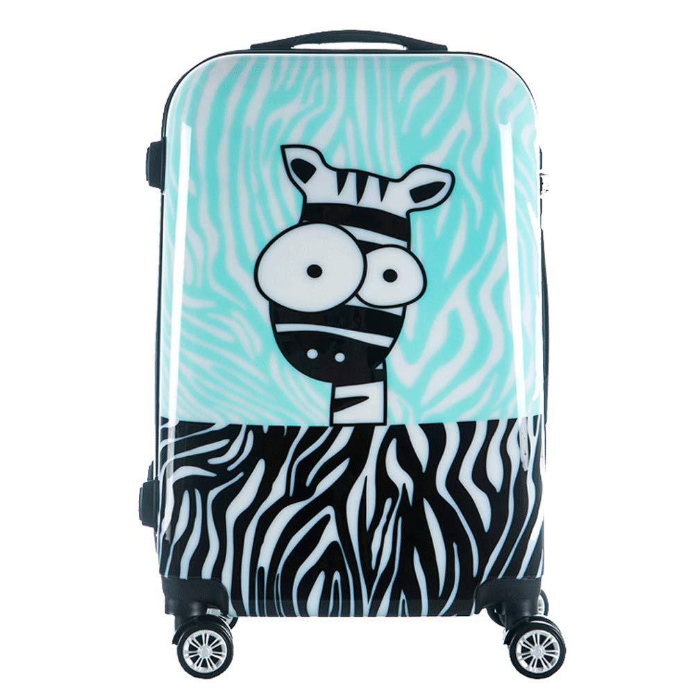 、漫画の子供のスーツケース旅行トロリーケースPCキャスタースーツケース、20インチ旅行に適した24インチ B07SXGMPHF