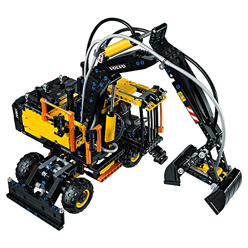lego technic volvo ew160e excavator 42053 construction toy. Black Bedroom Furniture Sets. Home Design Ideas