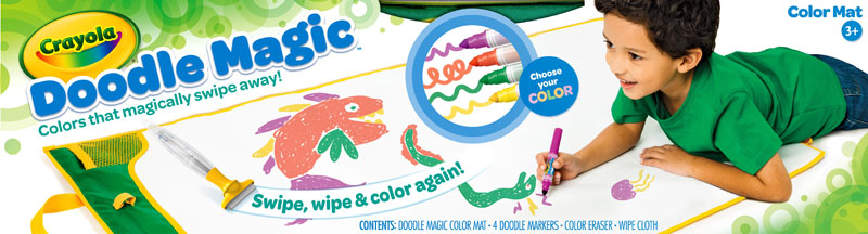crayola doodle magic color mat