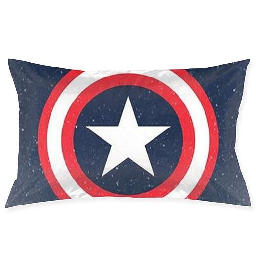 CHLING Fundas de Almohada Capitán América Fundas de cojín de ...