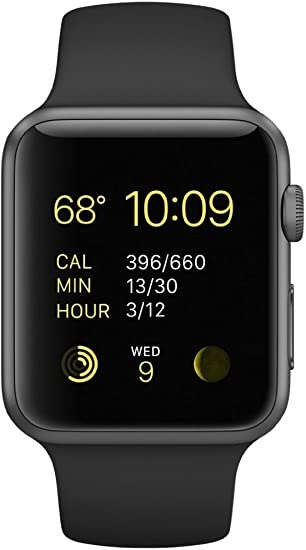 Amazon.com: Apple Watch Sport 1.654 in Space Gray Caja de ...