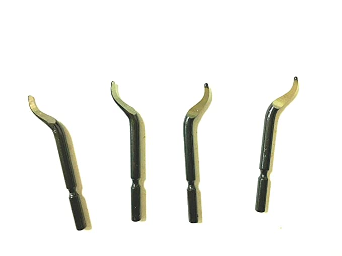 Replacement Deburred Tool BK3010 S150 Deburring Blades 10 Pcs Deburring Blades SODIAL R