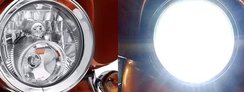 HARLEY ROAD KING 2014 UP DUAL LED HEADLIGHT SET