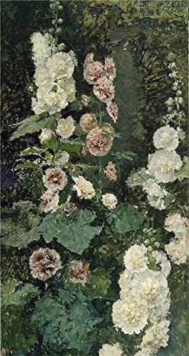 The Perfect Effectキャンバスの油絵` Fortuny Marsal Mariano Malvas Reales Ca。1872」、サイズ: 10x 19インチ/ 25x 48cm、このレプリカ芸術装飾印刷は、フィットの壁アート装飾、ホームアートワークとギフトの商品画像