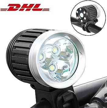 LED Luces Delanteras Bicicleta, Bici lámpara impermeable Luz ...