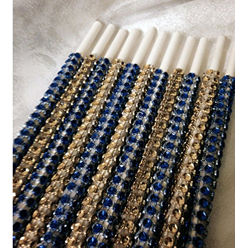 Festival of Lights Inspired Hanukkah Specialty Bling Cake Pop Sticks - Glam for Lollipops, Cake Pops and All Things Party - Bling Sticks 6