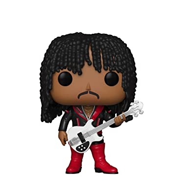 Funko Pop! Rocks: Rick James - Super Freak Toy, Multicolor: Toys & Games