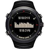 North Edge da uomo militare orologio sportivo digitale luce posteriore LED display orologi casual impermeabile altimetro bussola cronometro sveglia multifunzione orologio da polso, Uomo
