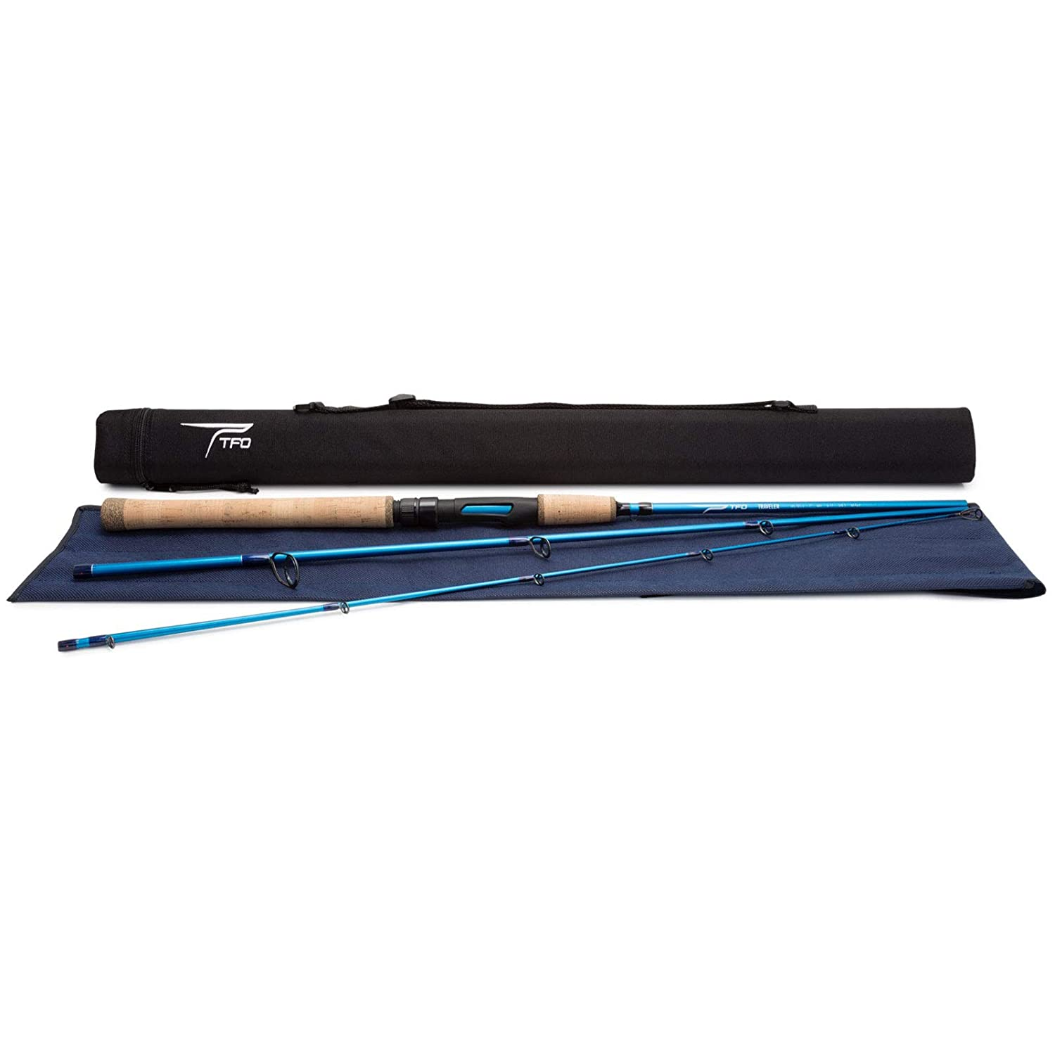 TFO Traveler Spinning Rod with Case
