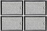 GE Microwave Grease Filter WB06X10309 - 4 Packs