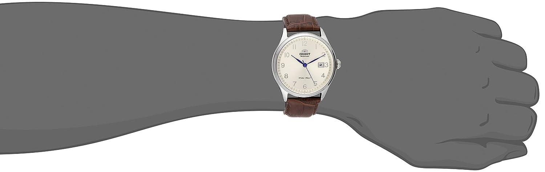 Orient Men s FER2J004S0 Duke Analog Display Japanese Automatic Brown Watch