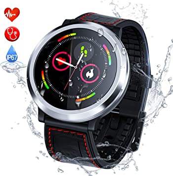 Zagzog Smartwatch, Reloj Inteligente Hombre Mujere Pulsera ...