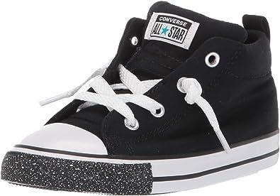Star Street Speckle Toe Mid Top Sneaker