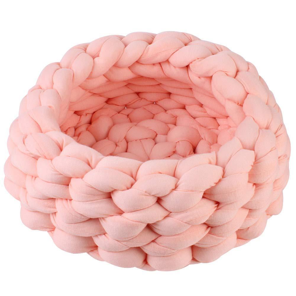 scegli il tuo preferito LANTA petsuppliesmisc 30 Centimetri Fai Fai Fai da Te a Maglia Nido d'Ape Cucito a Maglia di Cane Gatto Domestico Lavabile casa Regalo Lavabile (Colore   Skin rosa, Dimensione   One Dimensione)  Garanzia del prezzo al 100%