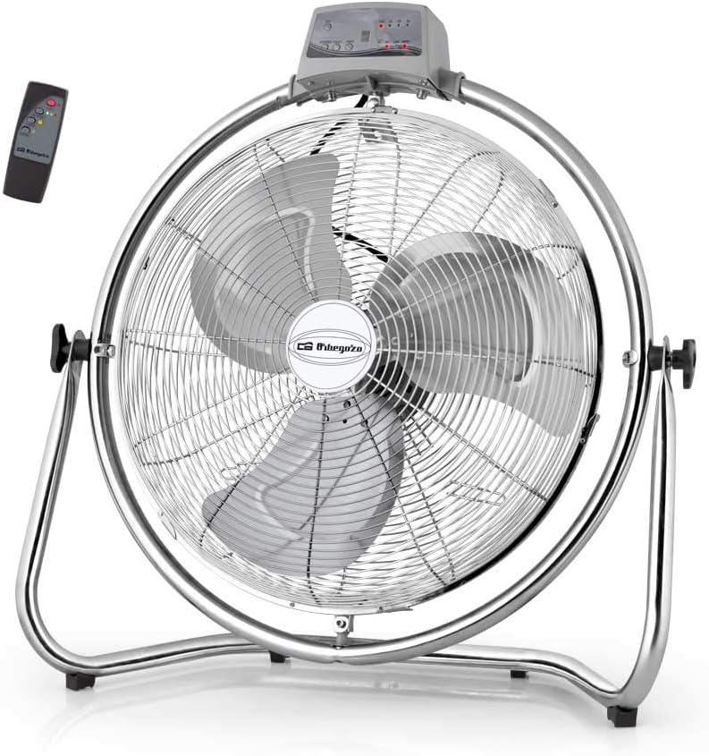Orbegozo Ventilador Industrial Oscilante PWM 2232. Tamaño de aspas 30 cm. 3 velocidades de ventilación. Seguridad antivuelco.