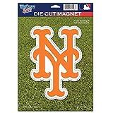 MLB New York Mets 79730010 Die Cut Logo Magnet, Small, Orange
