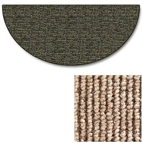 Sisal Weave Natural 4u0027 Half Round Hearth Rug