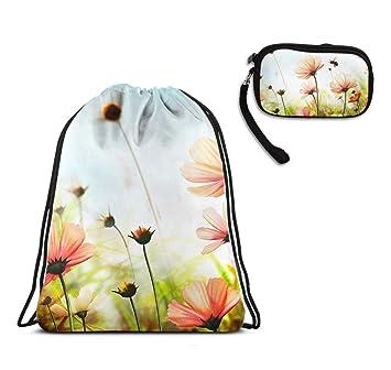 Amazon.com: Hermosa bolsa deportiva de verano con cordón y ...