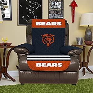 NFL Recliner Reversible Furniture Protector with Elastic Straps 80-inches by 65-inches & Amazon.com: NFL Chicago Bears Recliner Reversible Furniture ... islam-shia.org