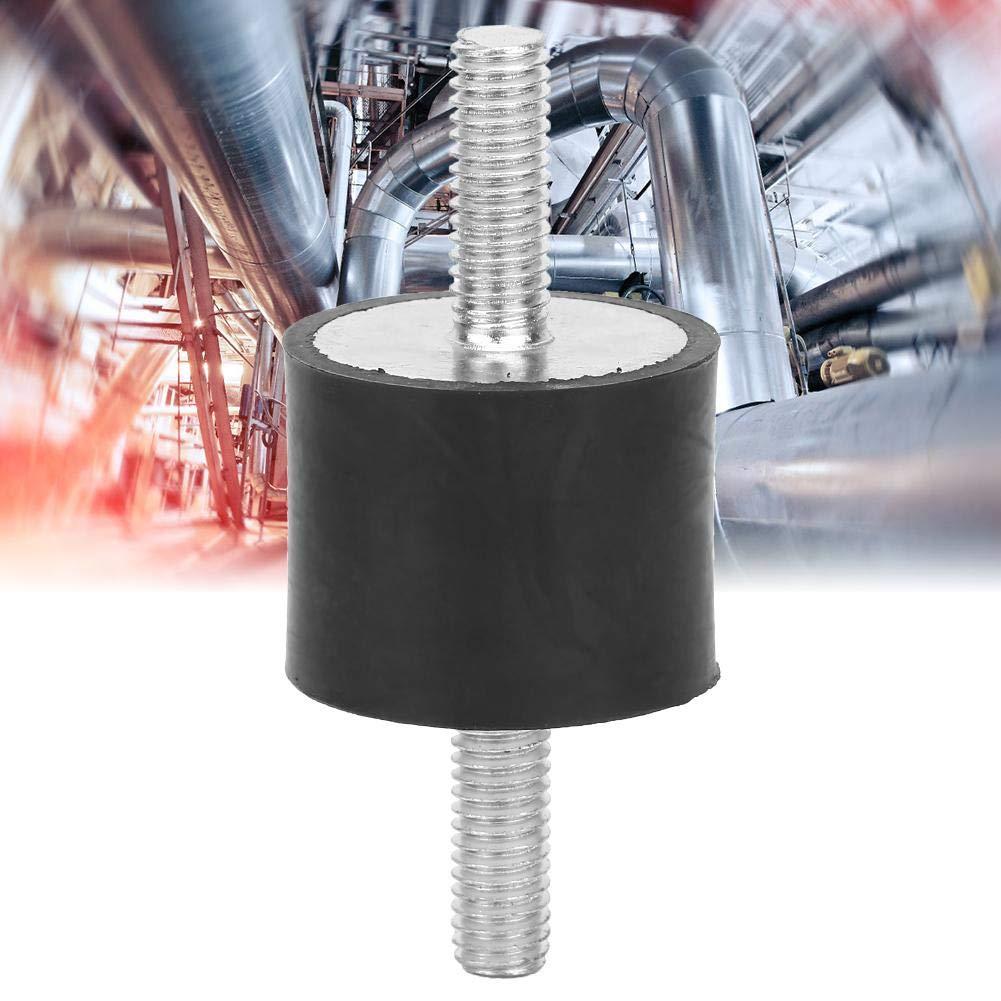 VV25*20 M6*18 4pcs M6 Anti-Vibration En Caoutchouc Isolateur Supports avec 2 Goujons Filet/és Amortisseur Double Extr/émit/és Vis Amortissement De La Vibration Supports Silent Block Damper Bobine
