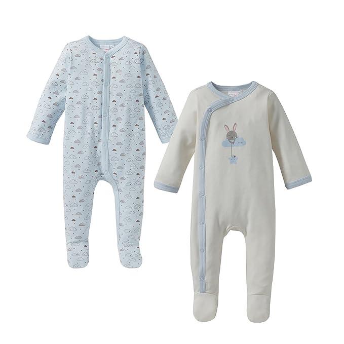 Bormioli Nino Basics Dormir Mono/Jumpsuit/Pijama De Juego/2 Unidades – Color