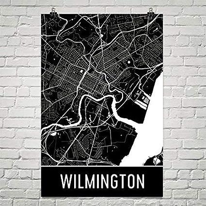Amazon.com: Wilmington Poster, Wilmington Art Print, Wilmington Wall on