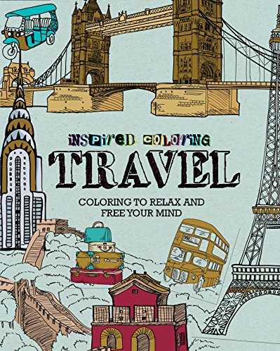 Coloring Books for Seniors: Including Books for Dementia and Alzheimers - Travel Inspired Coloring
