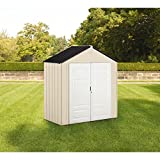 Rubbermaid Outdoor Shed, Plastic, 7x3