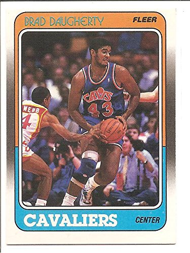 d123bd434210a Brad Daugherty Cleveland Cavaliers 1988-89 Fleer Basketball Card #22 ...