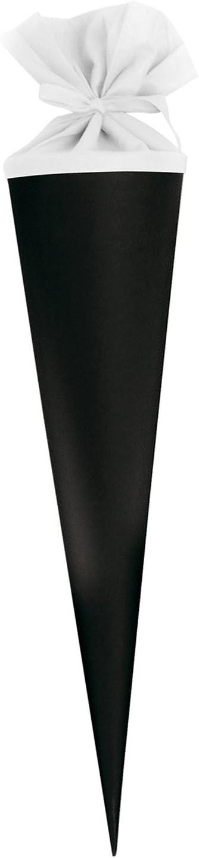 itenga Schultüte Zuckertüte Rohling Karton Basteln Grün 70 cm Filz Spitzenschutz