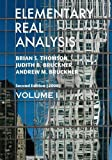 1: Elementary Real Analysis: Second Edition. [Part One]