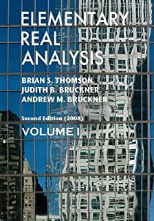 Amazon elementary real analysis second edition 2008 elementary real analysis second edition part one fandeluxe Image collections